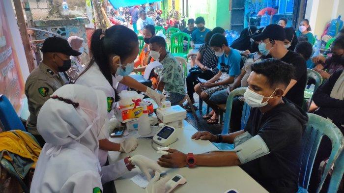 Polda Papua Gelar Gerai Vaksinasi Presisi di Perumahan Klofkamp Jayapura