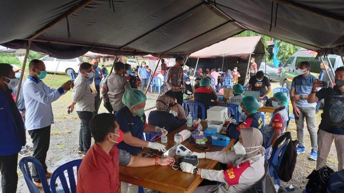 Dukung Program Pemerintah, Polresta Jayapura Kota Gencar Lakukan Vaksinasi