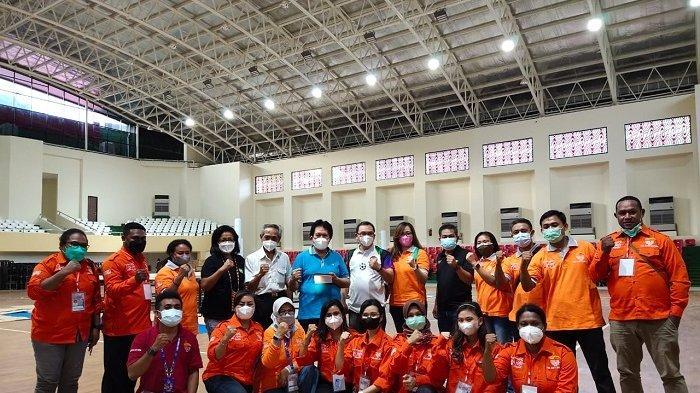 Tim Doping PON XX Papua Lakukan Simulasi DCO dan Chaperon pada Tes Event Cabor Tinju