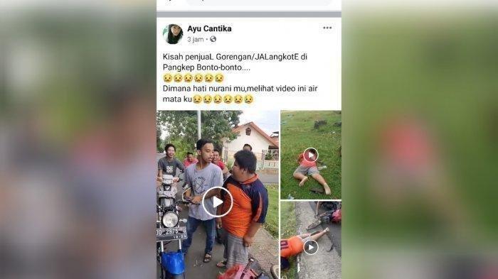 Bocah 12 Tahun Penjual Jalangkote yang Viral Ternyata Kerap Di-bully, Polisi: Kali Ini Kelewatan