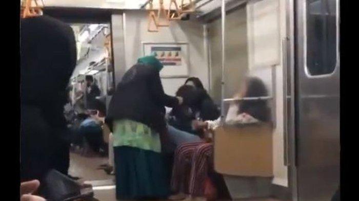 Viral Video seorang Ibu Tampar Wanita di KRL Gara-gara Makanan, PT KCI: Pasti Berdampak ke Psikis
