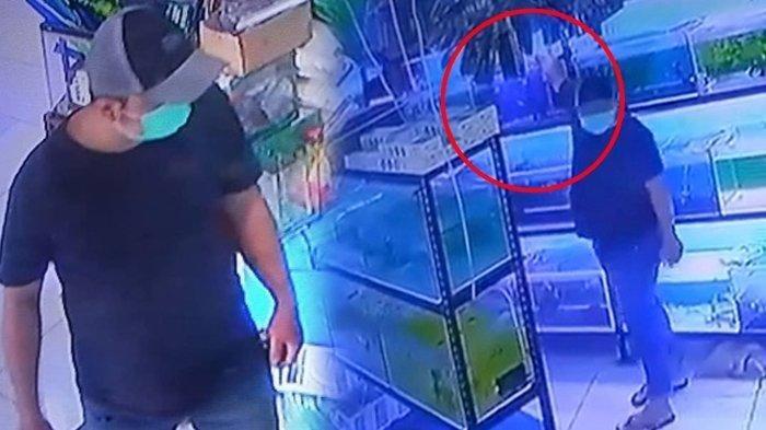 Viral Video Detik-detik Pencurian Ikan Louhan di Depok, Dimasukkan ke Saku Celana lalu Dibawa Kabur