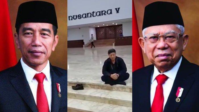 VIDEO VIRAL Dukun Lakukan Ritual Geladi Resik Pelantikan Presiden di Gedung DPR, MPR Buka Suara