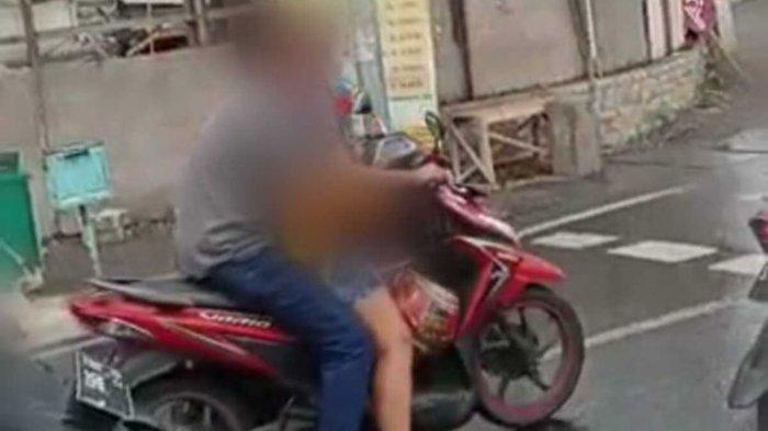 Beraksi Mesum di Atas Motor, Pasutri di Surabaya Ini Viral dan Diciduk Polisi, Berikut Faktanya