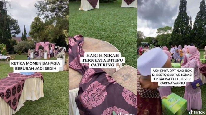 Viral Video Jasa Katering Tipu Pengantin, Pihak Keluarga Syok: Dia Chat OTW, Lalu Ditelepon Gak Bisa