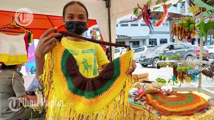 Peminat Noken Kelelawar Saat PON XX Papua Cukup Meningkat