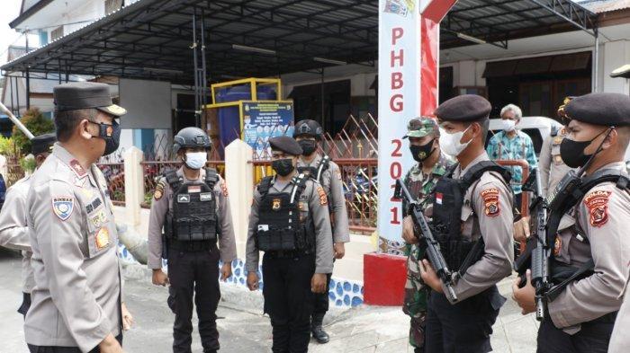 Wakapolda Papua Pimpin Pengecekan Pengamanan di Sejumlah Gereja di Kota Jayapura