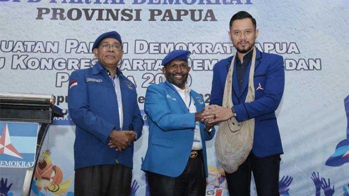 DPP Demokrat Beri Sinyal RHP Maju Pilgub Papua 2024