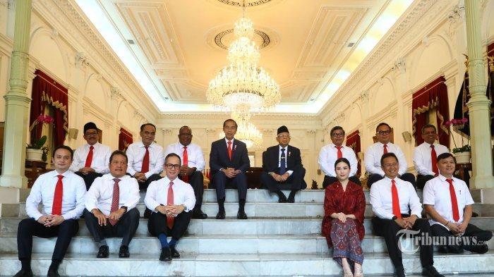 Beda 4 Kali Lipat, Berikut Perbandingan Jumlah Wakil Menteri di Era Jokowi Tahun 2014 dan 2019