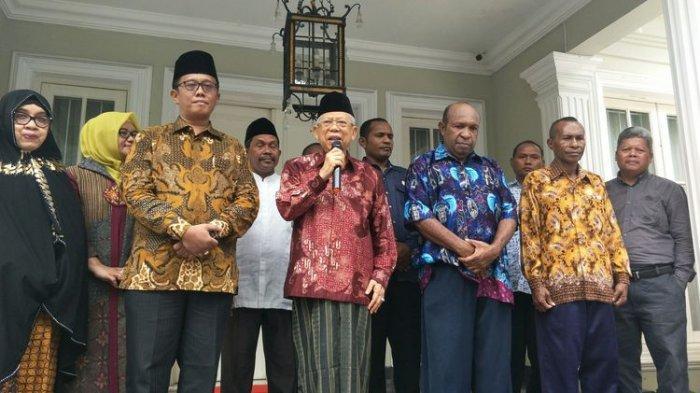 Ma'ruf Amin Diyakini Bisa Lanjutkan Cara Gus Dur dalam Tangani Papua