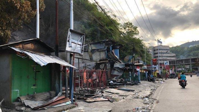 Data Kerusakan Kerusuhan di Jayapura Papua, Butuh Rp 100 Miliar untuk Perbaiki Kantor Pemerintahan
