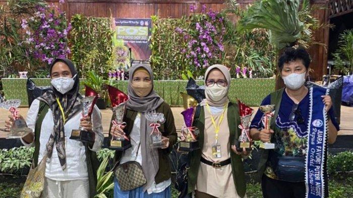 Pesona Anggrek Bulan Kalimantan Selatan Pukau Papua Orchid Show 2021