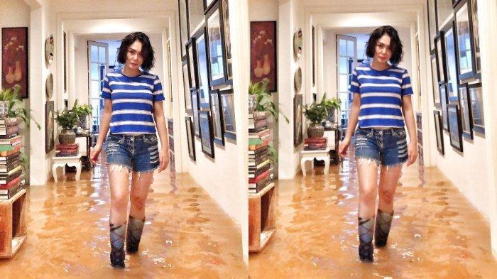 Cerita Yuni Shara soal Fotonya saat Banjir yang Viral: Enggak Kece Sebenarnya