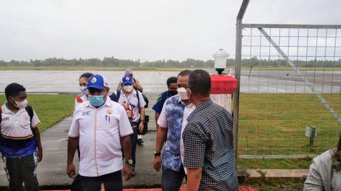 Memastikan Kesiapan Klaster, Ketua Harian PB PON Papua Kunjungi Merauke