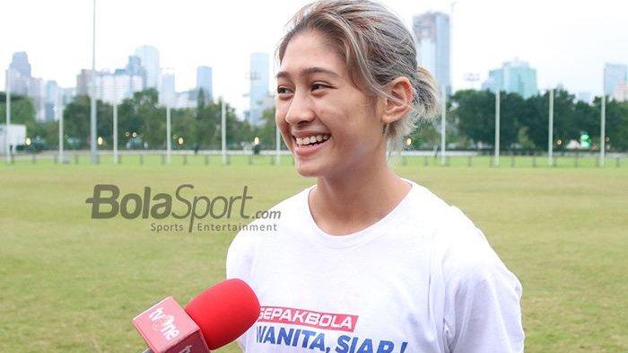 Timnas Wanita Lolos Piala Asia 2022, Zahra Muzdalifah Jadi Perbincangan Hangat