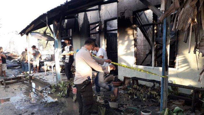 Korban Kebakaran 10 Rumah di Pelalawan Masih Trauma, Dinsos akan Salurkan Bantuan