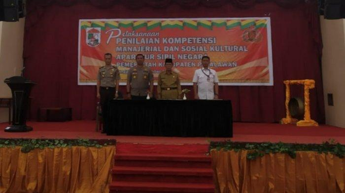 100 Pejabat Eselon lll Pelalawan Riau Ikuti Assesment di Kota Pekanbaru Selama Empat Hari