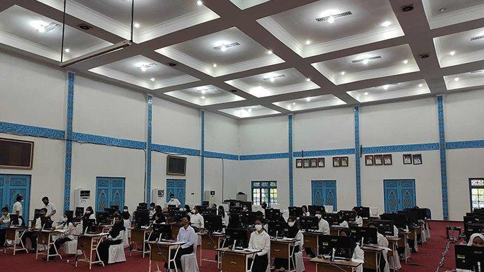 Total 39 Peserta Tak Hadir di Hari Pertama Ujian SKD CPNS Pelalawan, Langsung Gugur