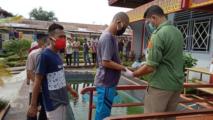 243 Warga Binaan di Rutan Rengat Ikut Berikan Hak Suara di Pilkada Inhu 2020