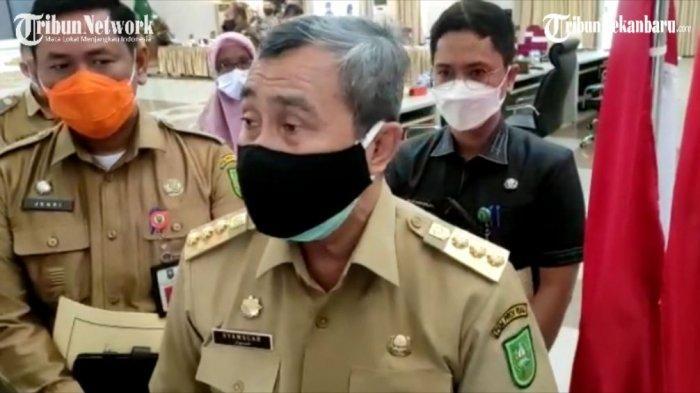 Gubernur Riau Syamsuar Terbitkan Instruksi Gubernur, PPKM Mikro Diperpanjang Hingga 25 Juli