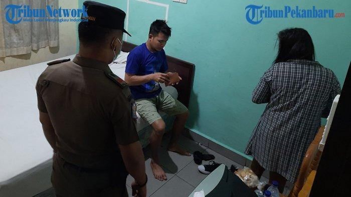 371 Pasangan Kumpul Kebo Ngamar di Hotel dan Wisma Diciduk Petugas, Indikasi Prostitusi di Pekanbaru