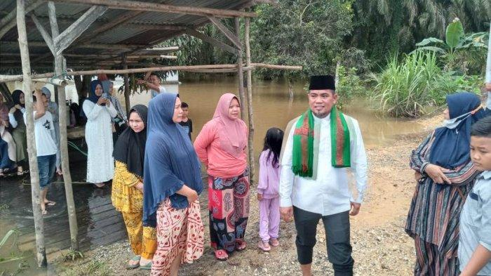 3 Desa dan 1 Kelurahan Tergenang Banjir di Pelalawan, 300 KK Terdampak, Camat Bunut: Mulai Surut