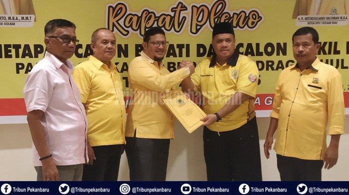 4 Nama Bakal Calon Bupati dan Wakil Bupati dari Partai Golkar pada Pilkada Inhu 2020, Ini Rinciannya