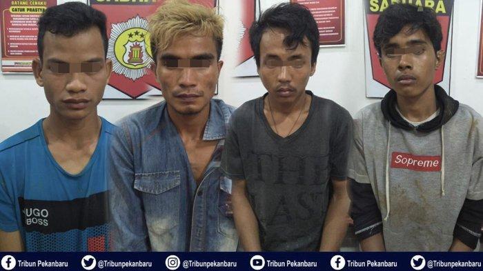 4 Pelaku Penyalahgunaan Narkoba di Riau Ditangkap dalam Satu Malam, Ada Pengedar dan Pemakai Narkoba