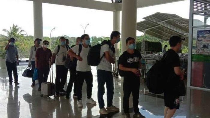 450 Orang TKA Asal China Kembali Masuk Indonesia, Mereka Dipekerjakan Untuk Sebuah Proyek Besar