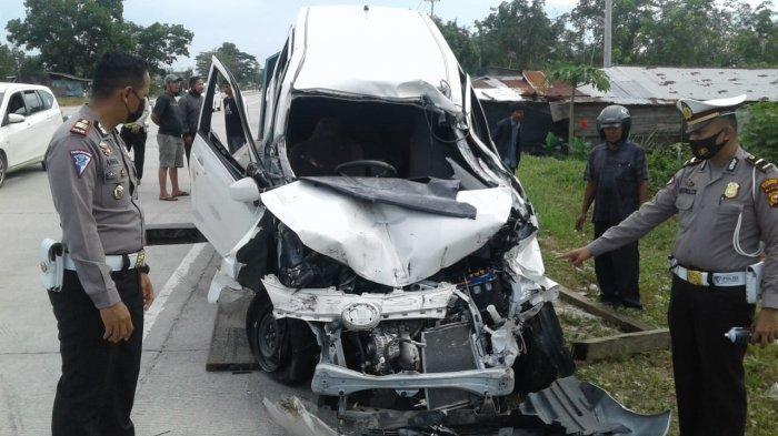 4 Orang Tewas dalam Kecelakaan Maut di Jalan Lintas Pekanbaru-Bangkinang Kampar, Sopir Truk Kabur