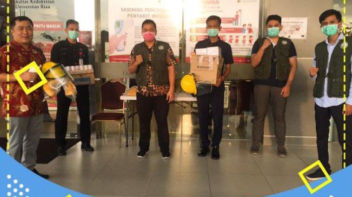 53 Mahasiswa Fakultas Kedokteran Universitas Riau Jadi Relawan Covid-19