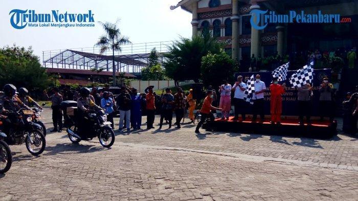 6243 Pekerja Pariwisata dan Ekonomi Kreatif di Riau Terima Bantuan dari Kemenparkraf RI