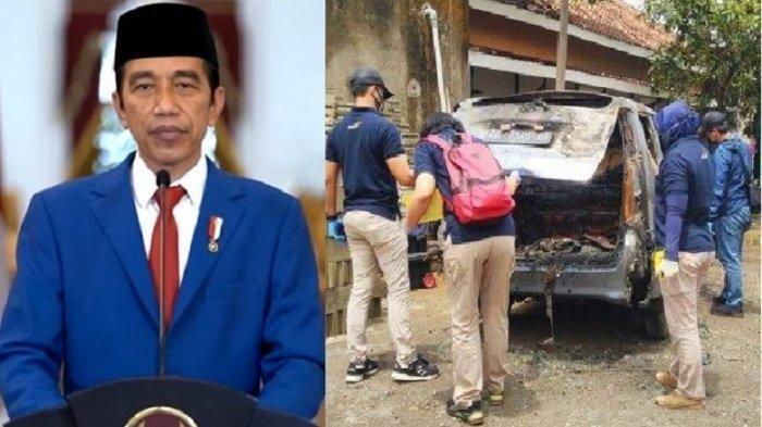 7 Fakta Kerabat Jokowi Ditemukan Terbakar dalam Mobil, Mobil Hangus dan Tubuhnya Gosong