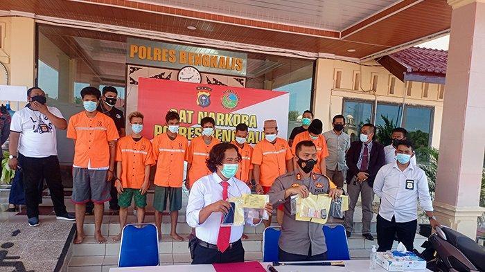 Ironis, Aktivis Antinarkoba Diciduk Polisi Edarkan Sabu, Wabup Prihatin Bengkalis Zona Merah Narkoba