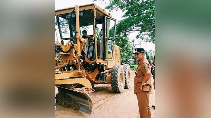 8 M Rupiah Dikucurkan untuk Perbaikan Ruas Jalan Sungai Beringin Tembilahan Inhil Riau