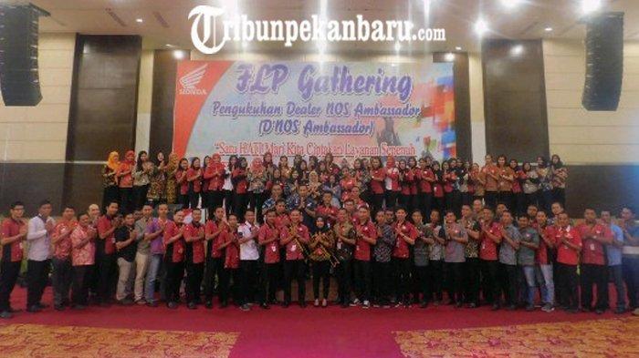 97 Frontliner People Jaringan Riau Ikut Ramaikan Gathering CDN Honda