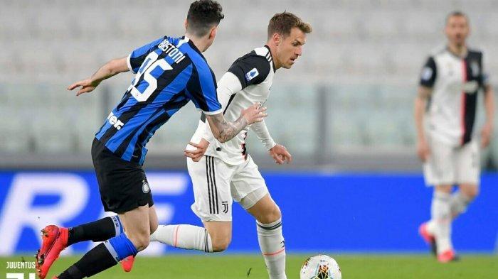 Hasil Liga Italia, Juventus Hajar Inter 2-0, Bianconeri Kembali ke Puncak Klasemen