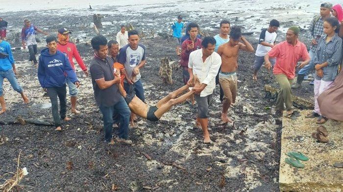Seorang ABK Tewas, Kapal Pengangkut Pasir Tenggelam di Perairan Sepahat Bengkalis