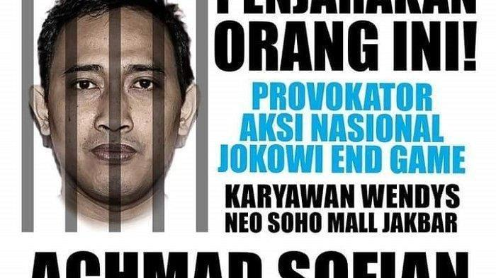 Siapa Sebenarnya Ahmad Sofian? Pria Provokator Aksi Jokowi End Game, Kini Hilang & Dicari Polisi