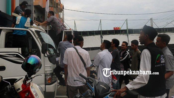 ACT Riau Kembali Mengirimkan Bantuan Logistik ke Lombok