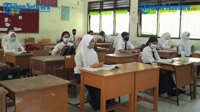 Seluruh SMP di Pekanbaru Sudah Gelar Belajar Tatap Muka Secara Terbatas
