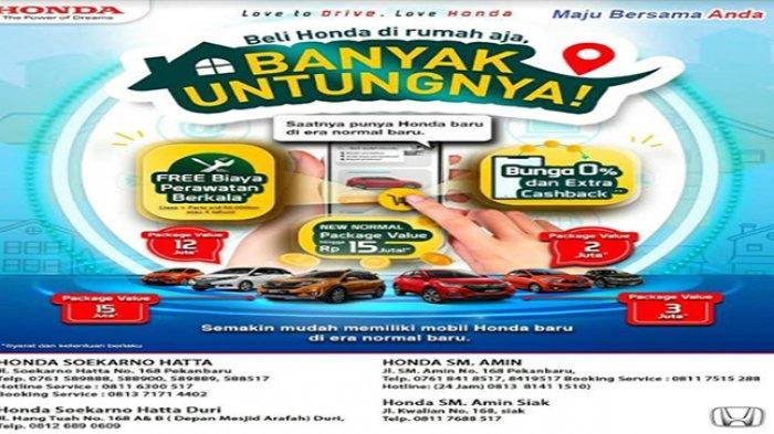 Jangan Sampai Terlewatkan, Ada Penawaran Menarik Mobilio dan BR-V di Honda Soekarno Hatta