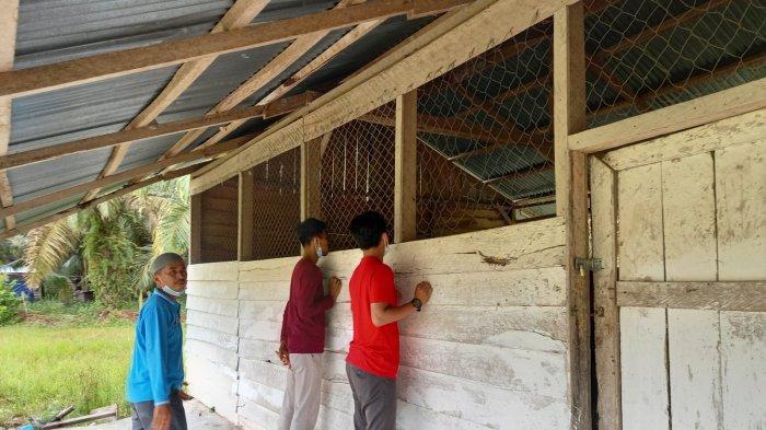 Ada sekolah di Kuansing yang bangunannya mirip di Laskar Pelangi, seihngga membuat anggota DPRD Riau Mardianto Manan terkejut.