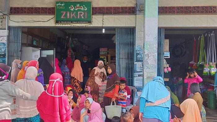 Rastem Riang Membawa Sembako Pulang, Bantuan Sosial Pangan dari Kemensos RI Cair