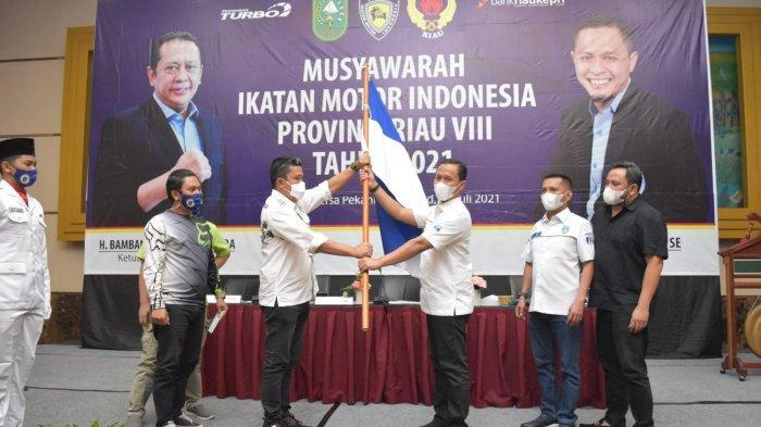 Tiga Periode Agung Nugroho Pimpin IMI Riau, Terpilih Secara Aklamasi untuk periode 2021-2025