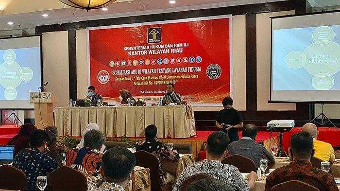 Pernah Alami Kredit Barang Berujung Eksekusi Objek Fidusia? Begini Penjelasan Kemenkumham Riau