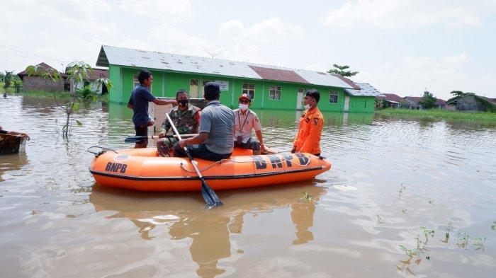 Air Sungai Siak Naik, Ratusan KK di Perumahan Witayu Terpaksa Mengungsi