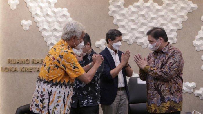 Menko Airlangga Audiensi dengan Musisi Indonesia, Mencari Solusi Konstruktif Industri Musik
