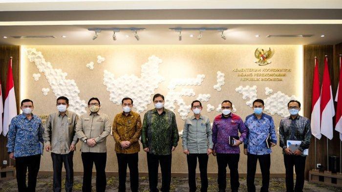 Tingkatkan Koordinasi dan Sinergi Menko Airlangga Hartarto Terima Kunjungan Ombudsman RI
