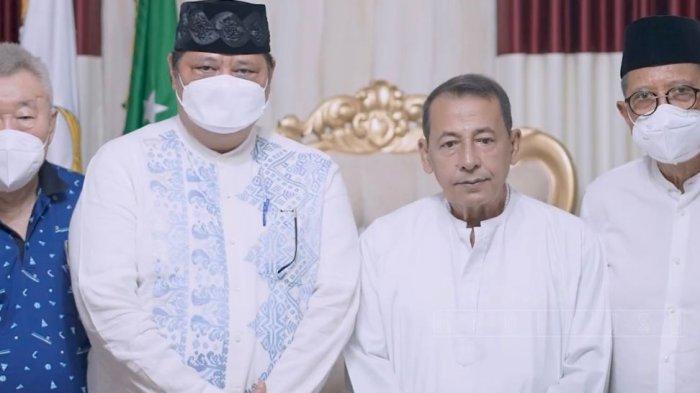 Silaturahmi Kediaman Habib Luthfi Pekalongan, Airlangga Hartarto: Beliau Orangtua Kita